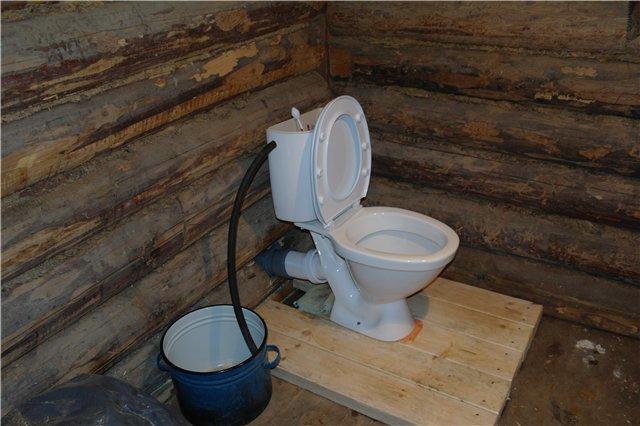 Для дома как сделать канализацию в туалет