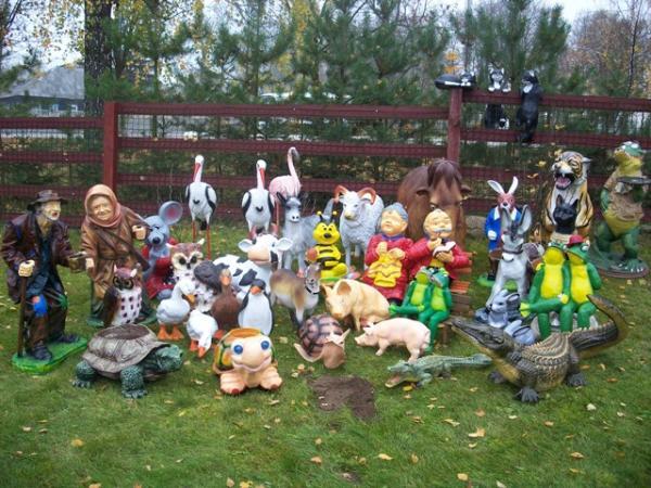 Скульптуры своими руками для детской площадки
