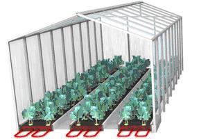 выращивание рассады в теплицах с электрообогревом