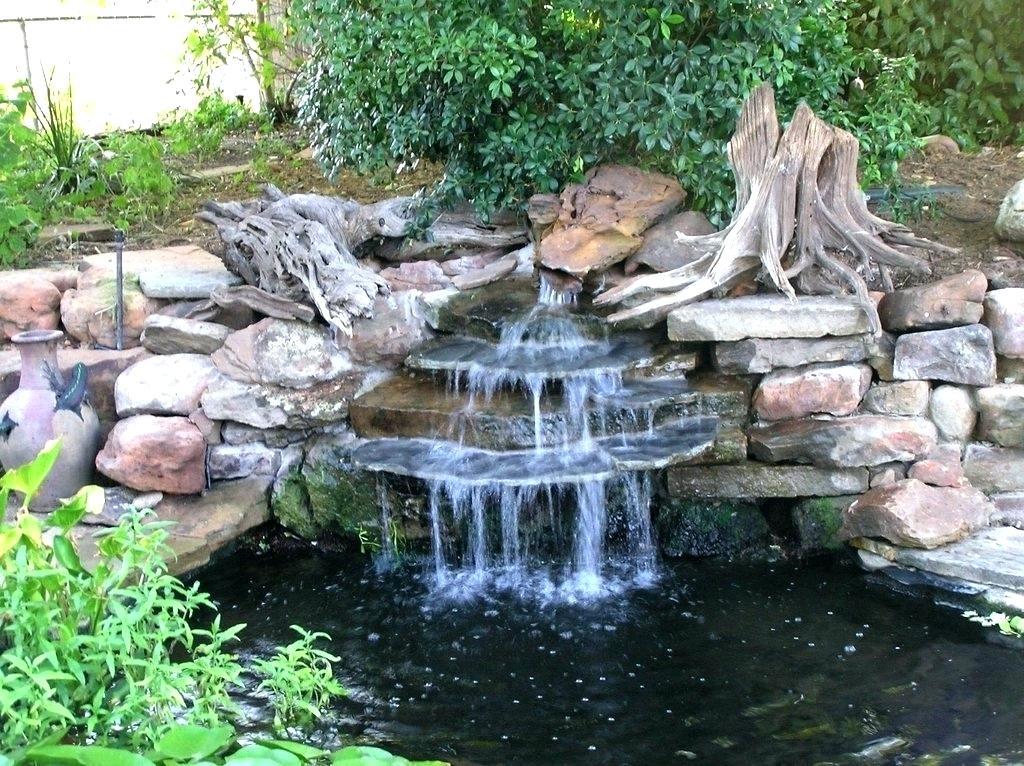 нанесения фонтаны и водопады на даче фото ней сможете рисовать