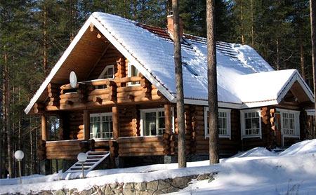 дом без отопления зимой