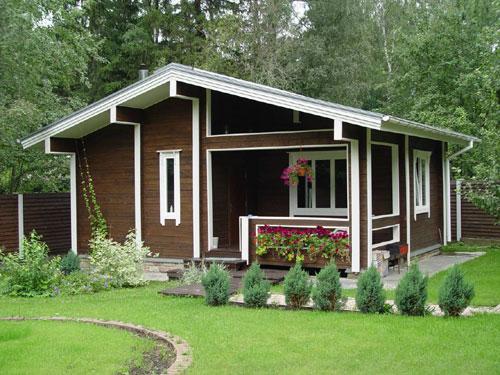 красивый дачный домик