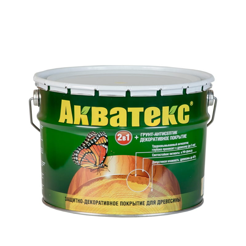 Акватекс - пропитка для дерева
