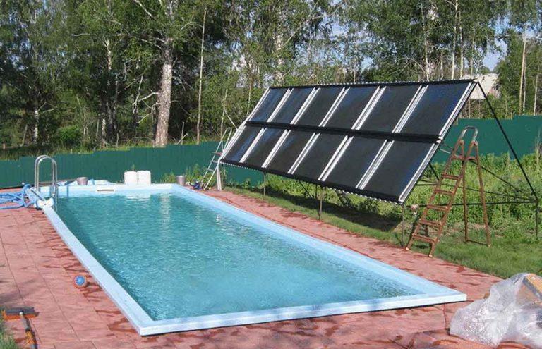 Солнечные панели для бассейна