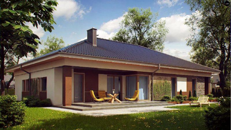Дом возведенный по польскому проекту