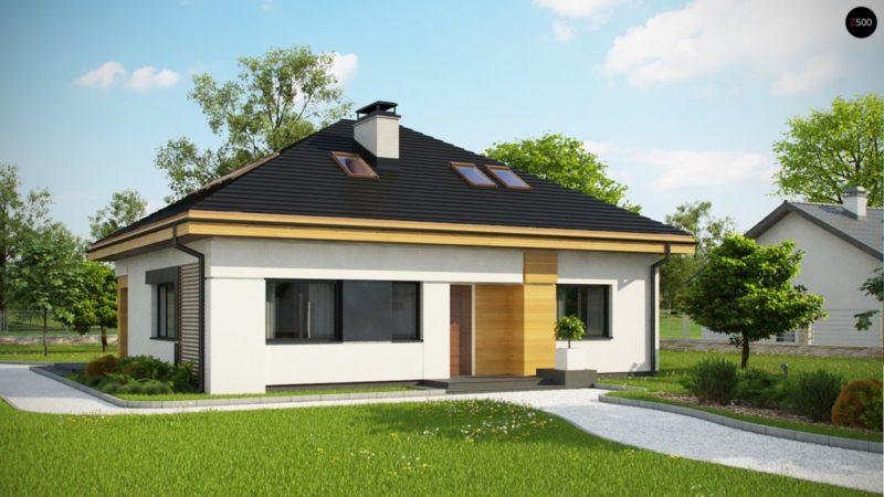 Поставленный дом по польскому проекту