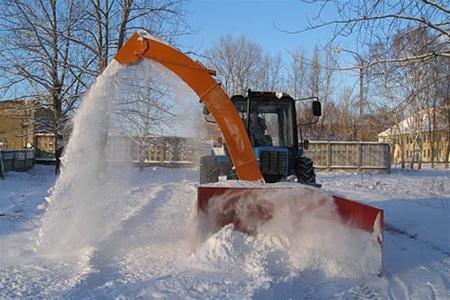 специальная техника для уборки снега