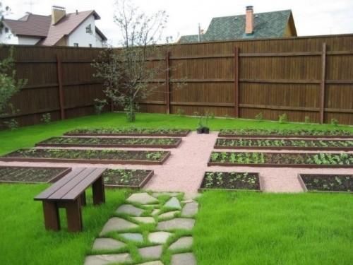 Украсить огород своими руками с фото фото 294