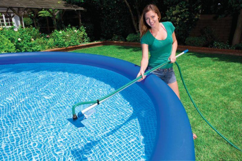 Водный пылесос для бассейна