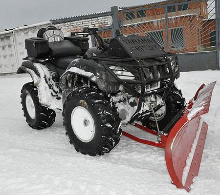 отвал для снега для квадроцикла