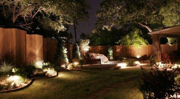 освещение придомовой зоны