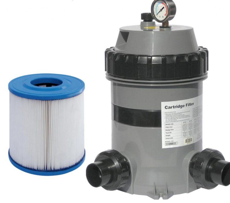 Для чистки бассейна картриджный фильтр