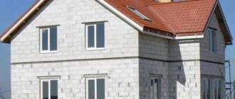 фасад коттеджа