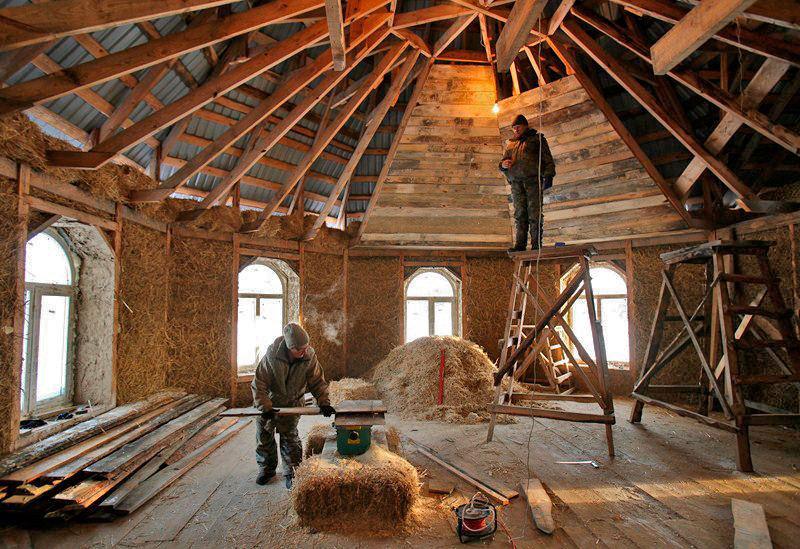 Кто строил восьмиугольный дом