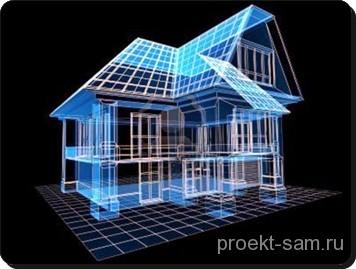 3D проект дома в программе Archicad