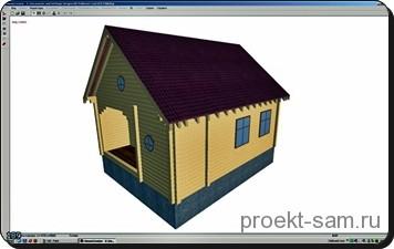 3d проект дома в программе house creator