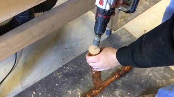 Создание шипа для соединения деталей