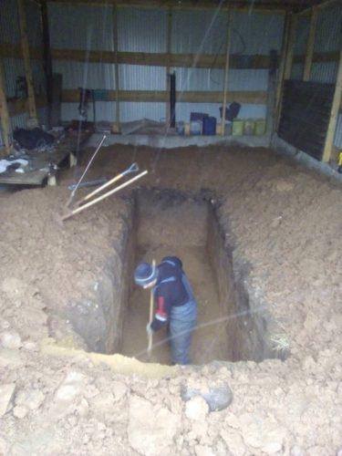 копка ямы