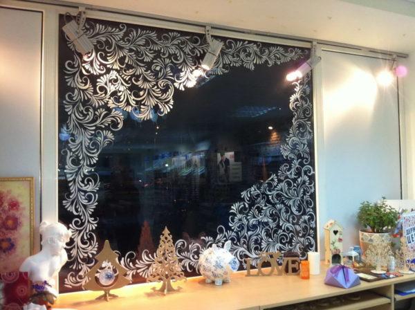 Узоры на стекле