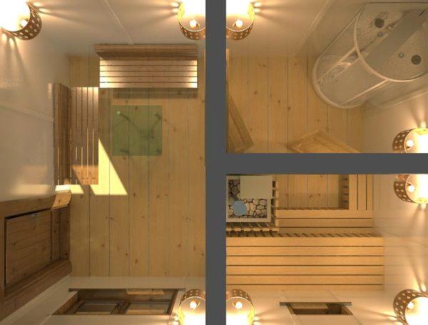 3d проект бани