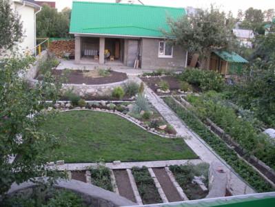 Дизайн участка 5 соток с домом