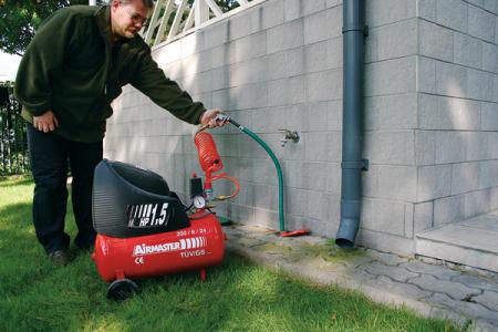 продувание водопровода на зиму