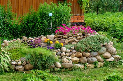 """альпийская горка """"каменный сад"""""""
