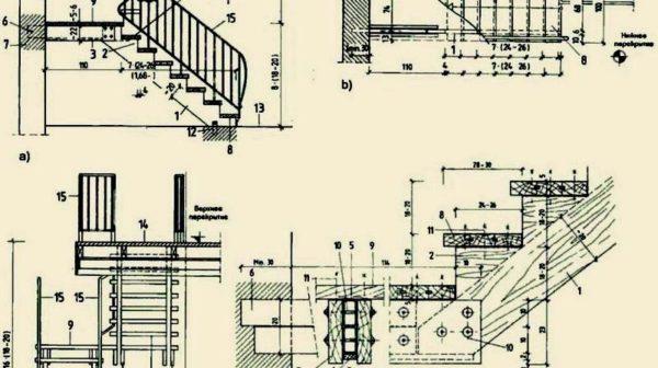 преокт лестницы
