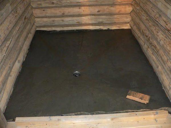 бетонирование полов