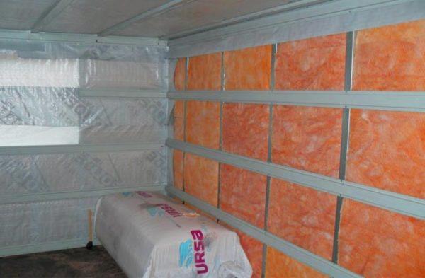 теплоизоляция на стены