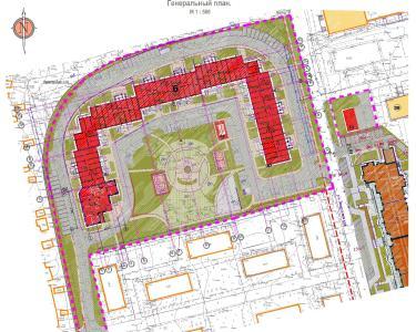 план 9 этажного секционного дома