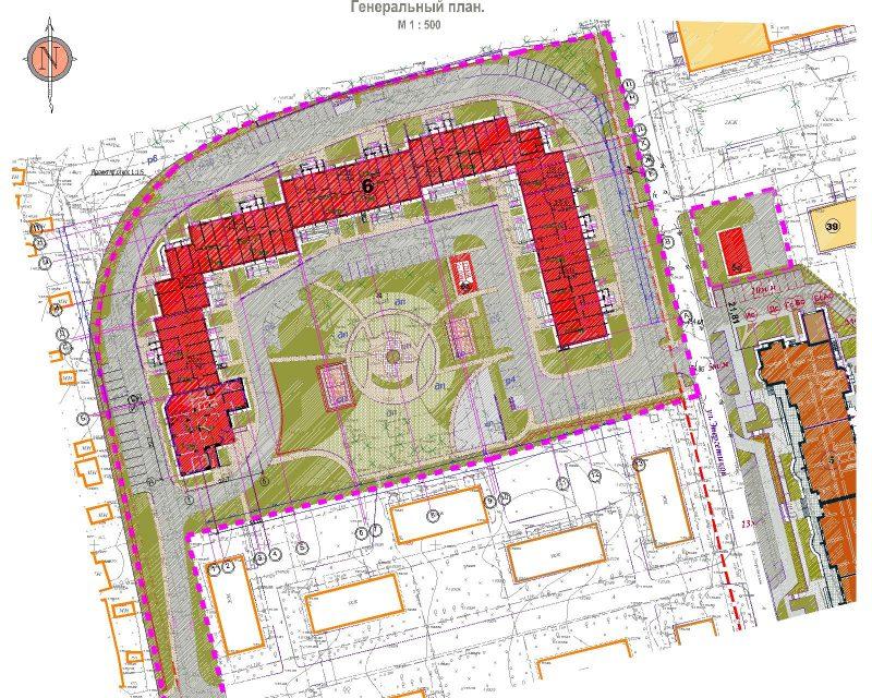 Проект планировки территории многоквартирного жилого дома картинки