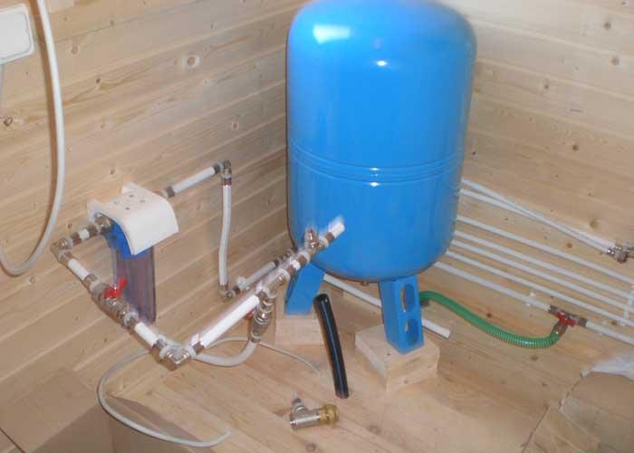Система водоснабжения бани своими руками 71