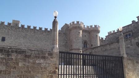 средневековый дворец рыцарей на острове Родос