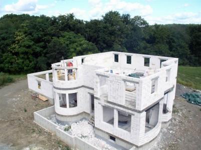 строительство многоквартирного дома из газобетона