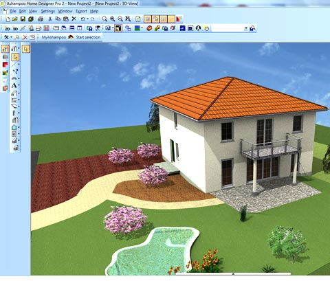 программа Ashampoo Home Designer