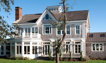 американский деревянный дом