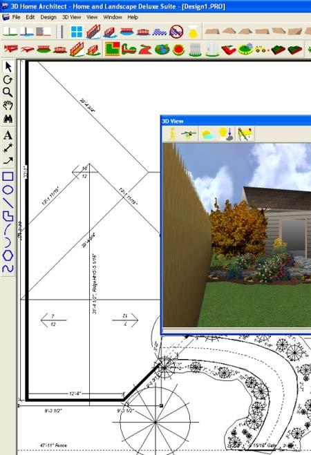 Разработка ландшафта в программе 3D Home Architect