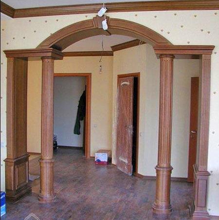 арки в стиле модерн