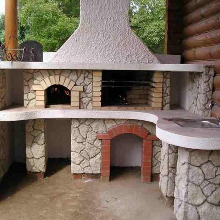Дачный домик из кирпича своими руками