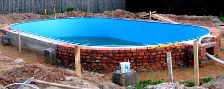 постройка бассейна