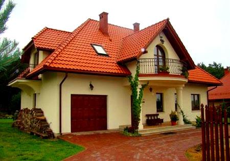 дом с многощипцовой крышей