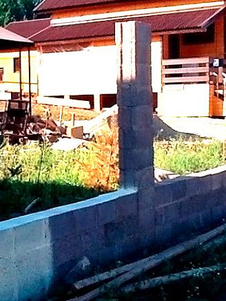 бетонный столб