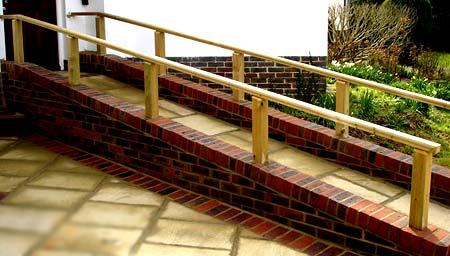 бетонный пандус