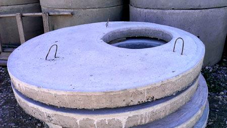 бетонная крышка