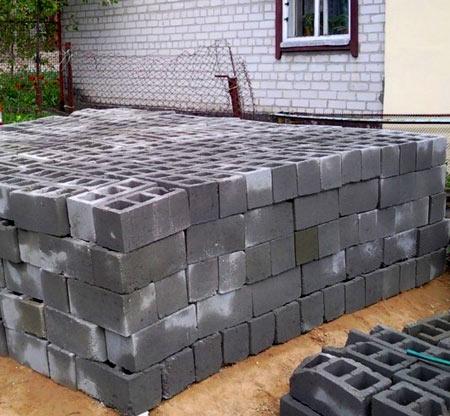 ячеистые блоки