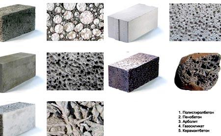 структура полистрирольных блоков
