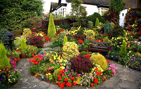 ботанический ландшафтный дизайн