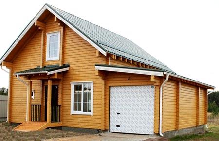 проект дом гараж