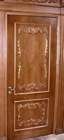 бук резные двери